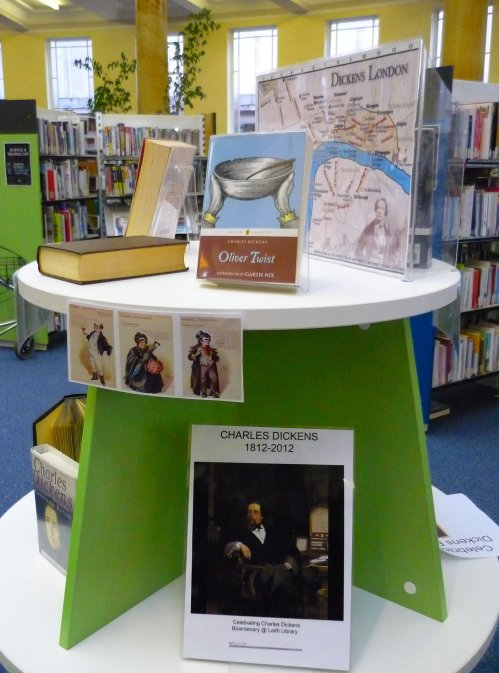 Charles Dickens in Leith Library