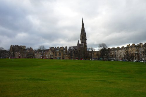 Barclay Viewforth Church from Bruntsfield Links