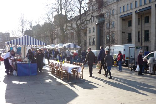 Edinburgh Farmer's Market, 17th March