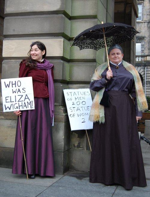 Eliza Wigham and Sophia Jex-Blake