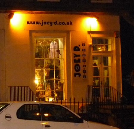 Joey-d.co.uk on Broughton Street