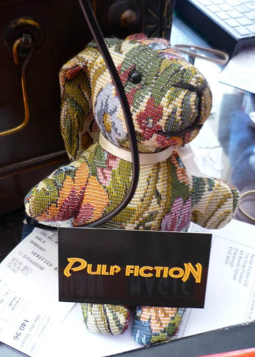 Pulp Fiction's Paisley Rabbit