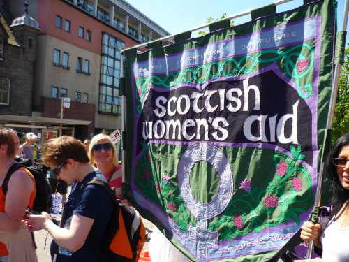 Scottish Women's AID at anti-SDL