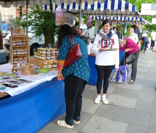Edinburgh Farmer's Market - Saturday 9th June