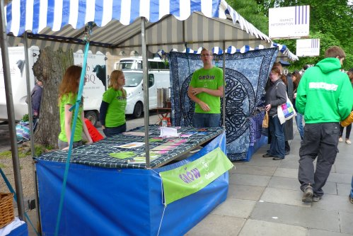 Edinburgh Farmer's Market - Oxfam - Saturday 9th June
