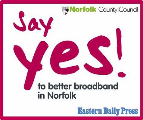 Yes to better broadband