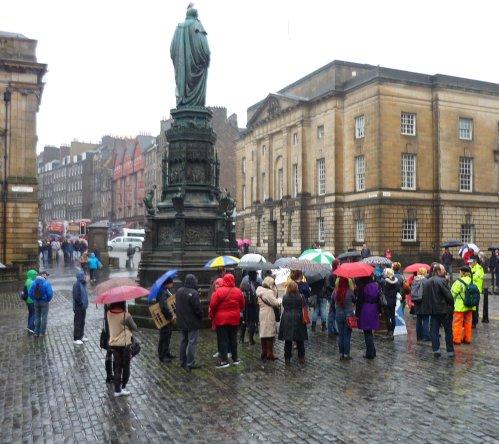 Slutwalk 2012, Parliament Square