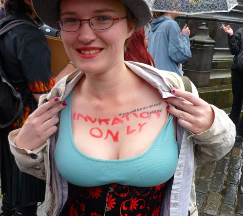 Edinburgh Slutwalk 2012: Invitation Only