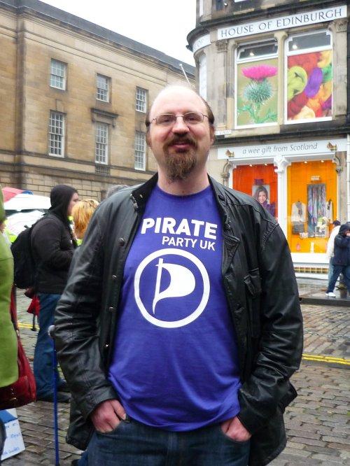 Edinburgh Slutwalk 2012; The Pirate Party