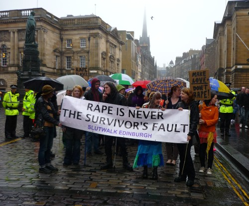 Edinburgh Slutwalk: Because Rape is Never the Survivor's Fault