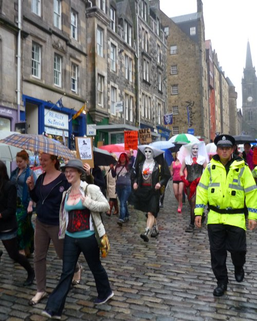 Edinburgh Slutwalk 2012: