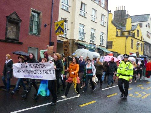 Edinburgh Slutwalk 2012: