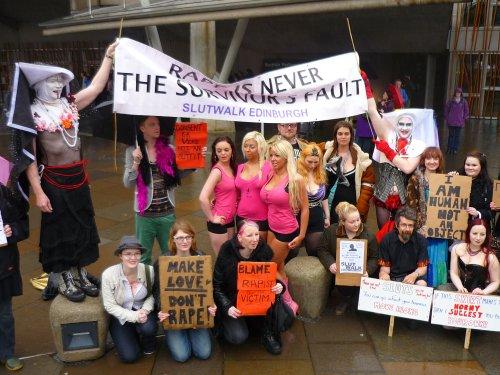 Slutwalk Edinburgh 2012