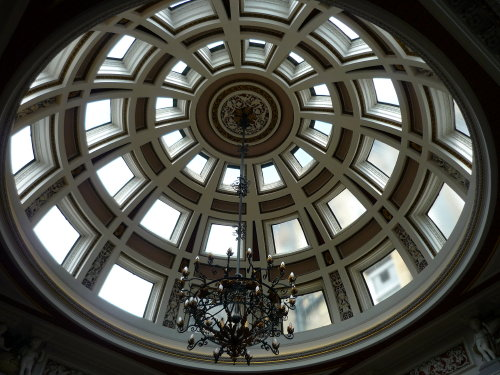 Domed ceiling at the Merchant's Hall