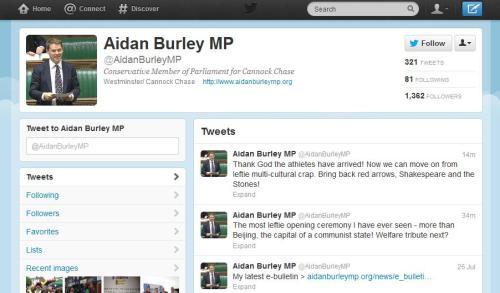 Aidan Burley hates multiculturalism