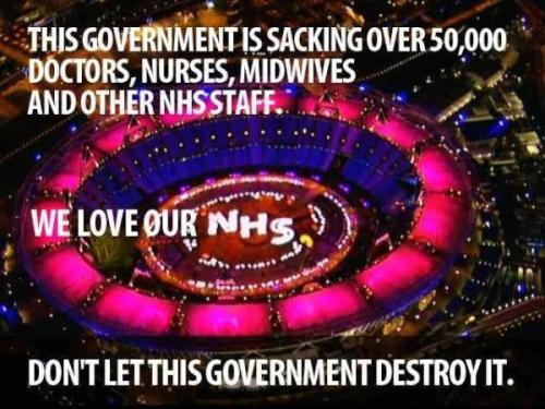 Olympic We Love the NHS