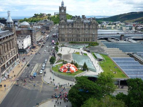 Within the demolition zone of the Hiroshima blast in Edinburgh