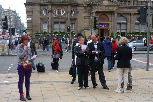 The 2012 Hiroshima Vigil in Edinburgh