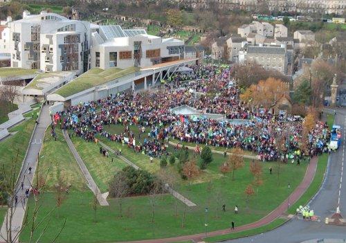The 2011 STUC rally