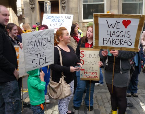 We Love Haggis Pakora, Smash the SDL