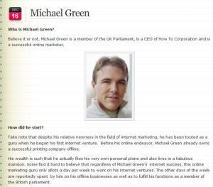 Michael Green MP