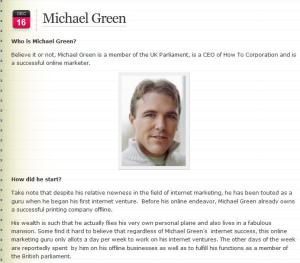 Michael Green MP