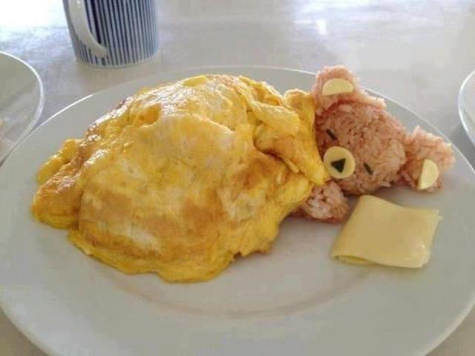 Teddy breakfast