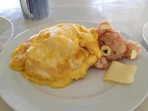 Teddy breakfast