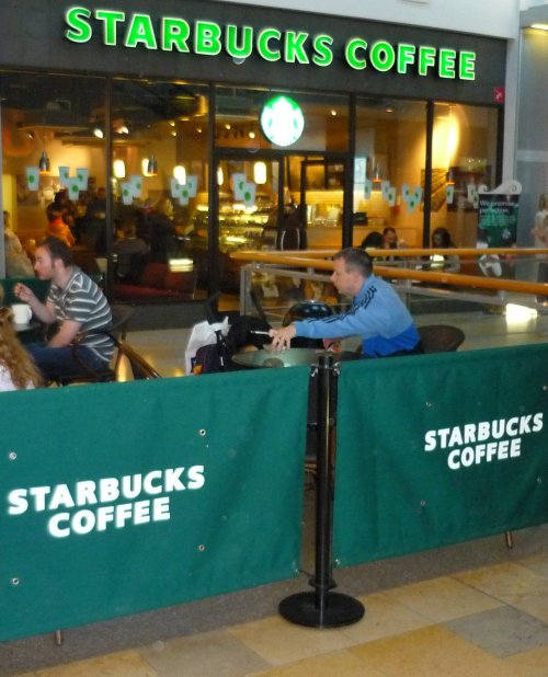 Starbucks - busy but unprofitable?