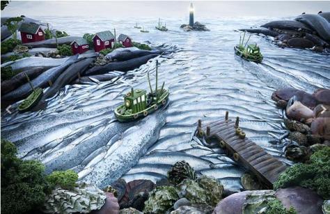 Carl Warner - fishscape
