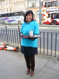 Mary's Meals: A cold volunteer