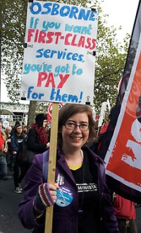 Osborne, if you want First Class services, you've got to PAY for them!