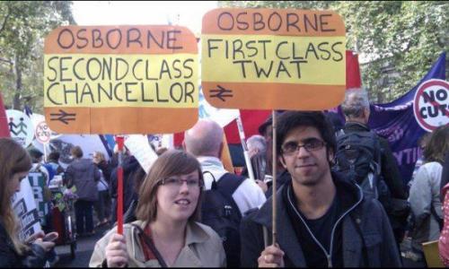 Osborne: Second Class Chancellor, First Class Twat