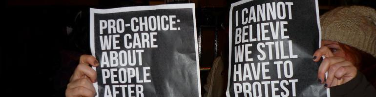 Prochoice: we care about people after they're born too