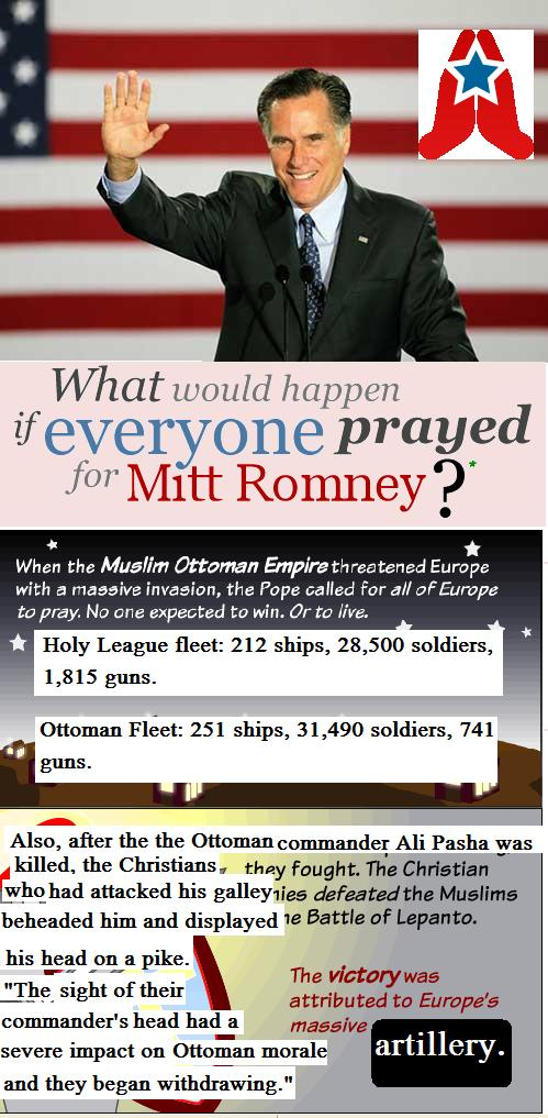 Mitt Romney and the Battle of Lepanto