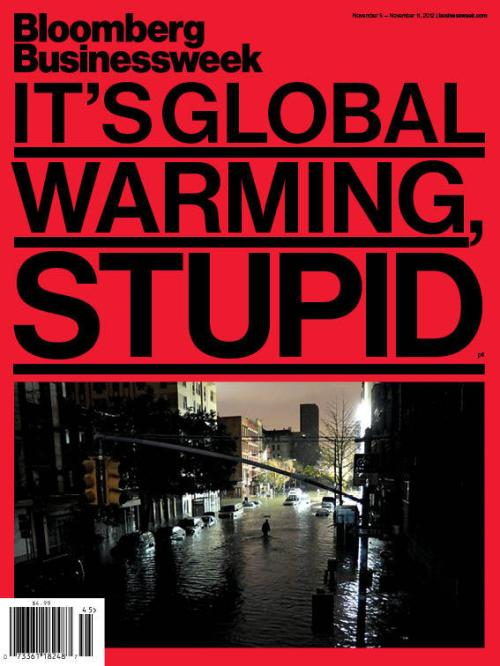 Bloomberg BusinessWeek: It's Global Warming, Stupid