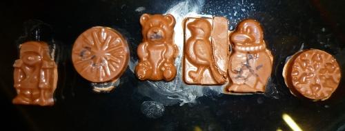 Chocolates on train