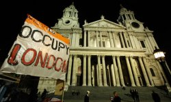 Occupy London at St Paul's Cathedral