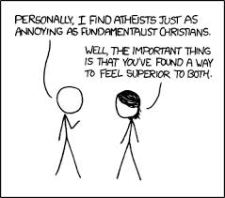 XKCD: Atheists annoying