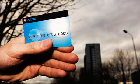 Asylum seekers Azure card