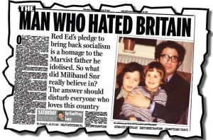 Daily Mail smears Ralph Miliband