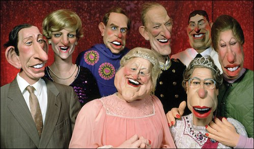 The Windsors on Spitting Image