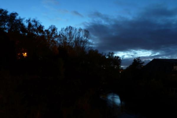 Night over the Water of Leith
