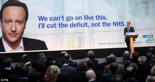 David Cameron - NHS
