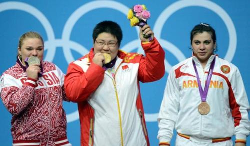Fat women at the Olympics
