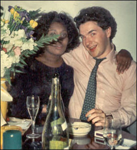 George Osborne with Natalie Rowe