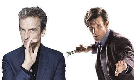 Matt Smith and Peter Capaldi