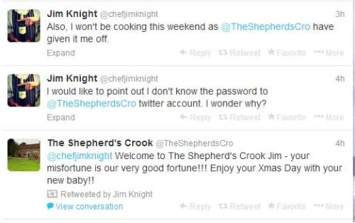 Shepherd's Crook + Jim Knight