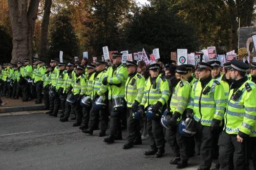 Metropolitan Police lineup