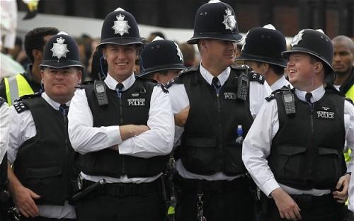 Happy Metropolitan Police